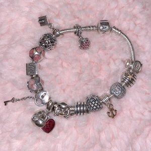 Fully Loaded Pandora Bracelet
